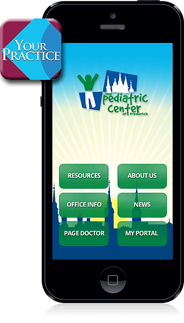 The Pediatric Center of Frederick Mobile App